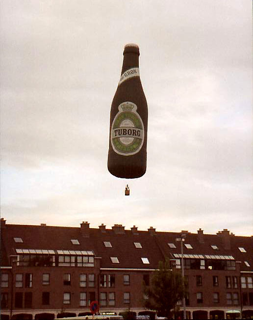 Tuborg balloon