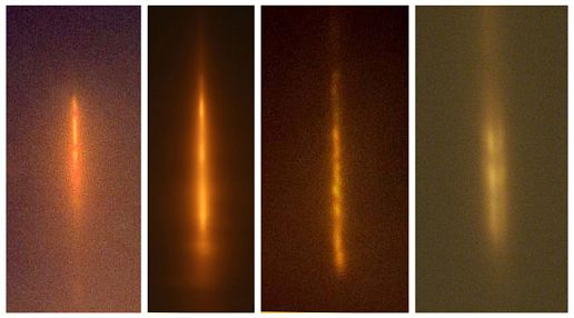 examples of light pillars, Svalbard Mystery Object
