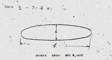 The object as sketched by Kelly JOHNSON